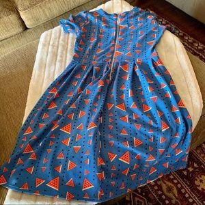 Women's LuLaRoe Vintage Inspired A-Line Dress